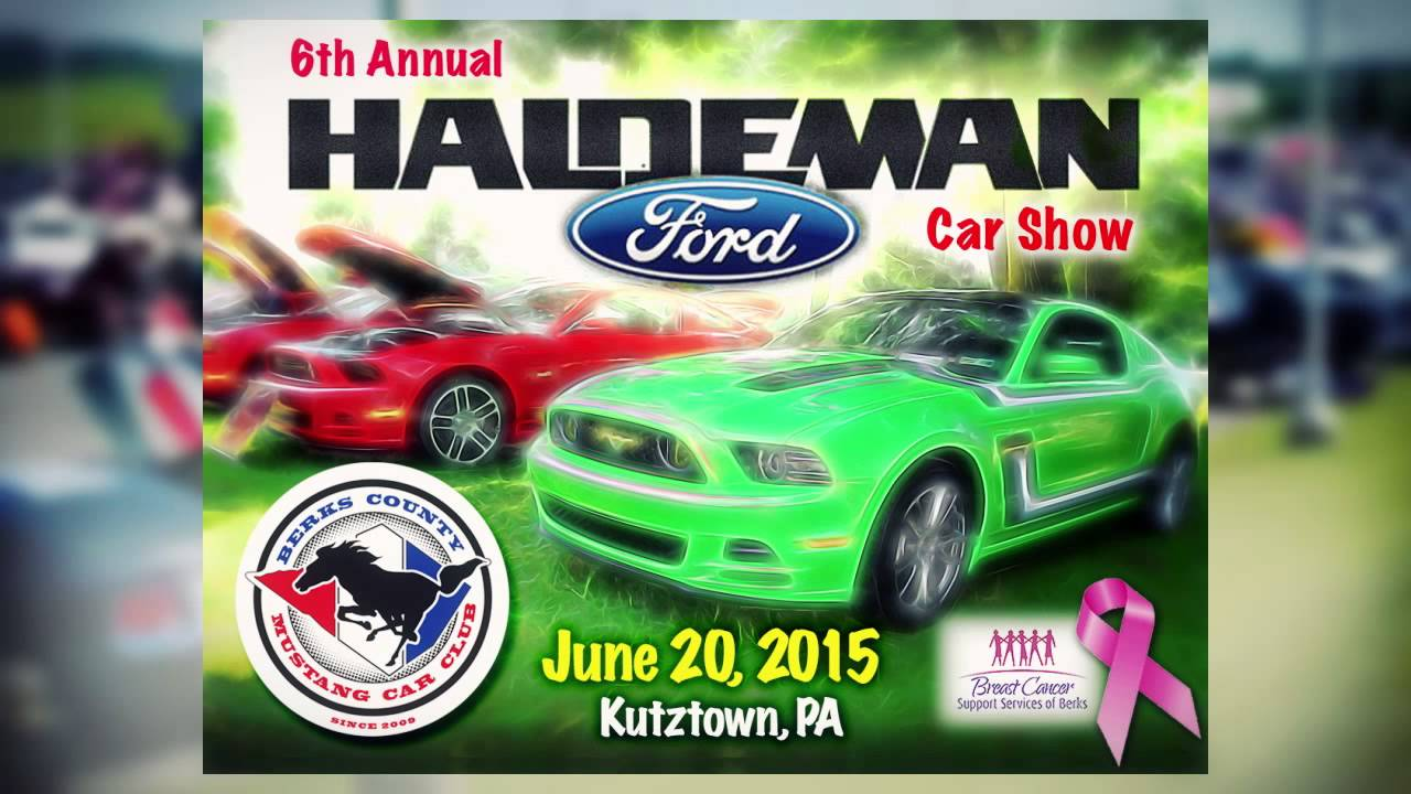 Haldeman Ford Mustang Car Show YouTube - Haldeman ford car show