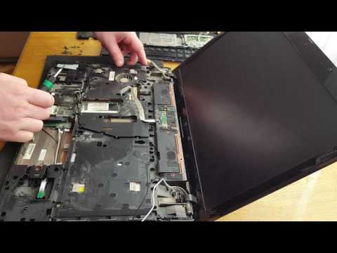 HP ProBook 4710S Disassembly, разборка