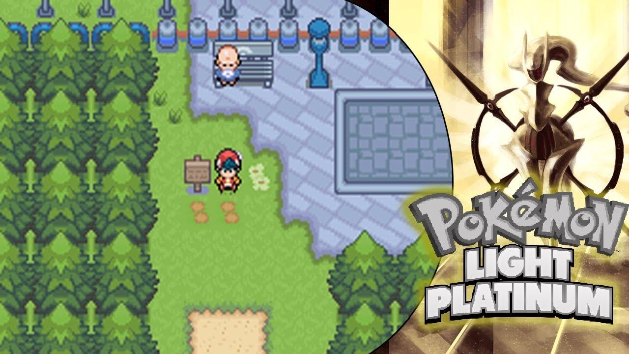 Explorando Lago Solar y completando la misión de la profesora Jazmín - Pokémon Super Light Platinium