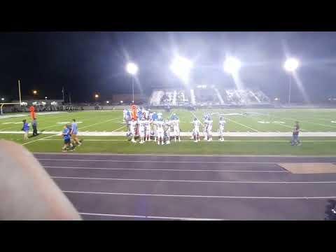 Childress high school varsity football vs Muleshoe mules