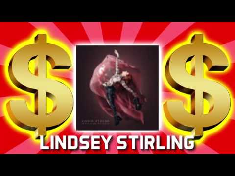 HOW MUCH MONEY DOES LINDSEY STIRLING MAKE ON YOUTUBE 2017 {YOUTUBE EARNINGS}