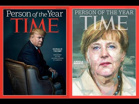 Thumbnail: Candidate Donald Trump had a love hate relationship with Angela Merkel
