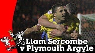 Liam Sercombe v Plymouth Argyle | Exeter City Football Club