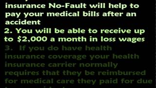 New York Car Insurance Part 4: No-Fault / Personal Injury Portion (PIP) Coverage