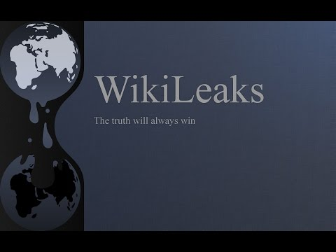 LIVE STREAM: Julian Assange from Wikileaks Holds News Conference on CIA leaks
