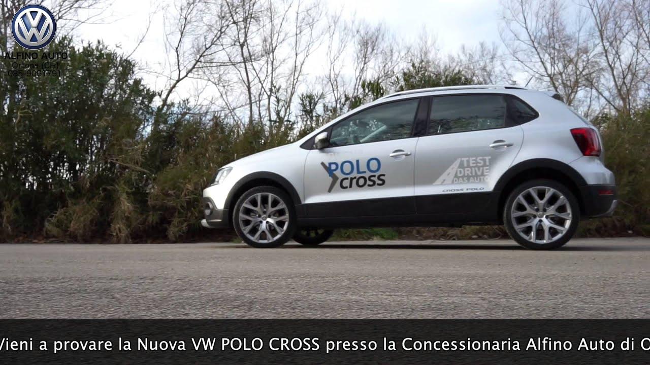 Spot Vw Polo Cross 2016 Alfino Auto Ortona Ch By Icarodroni