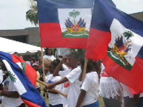 Haiti National Anthem - La Dessalinienne - Palm Bay FL
