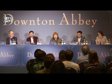 Downton Abbey Press Conference - Robert James-Collier, Sophie McShera & Kevin Doyle