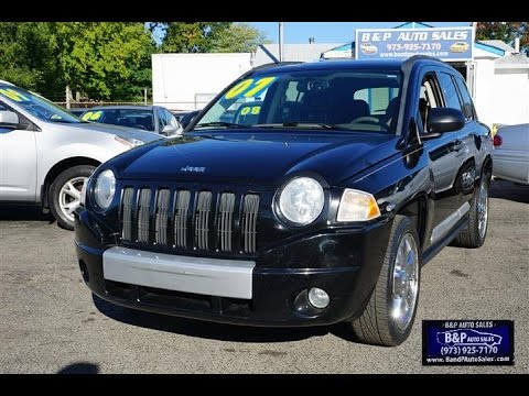 2007 jeep compass limited 4x4 youtube. Black Bedroom Furniture Sets. Home Design Ideas