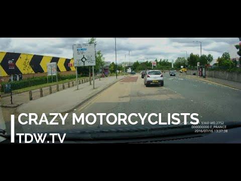 Crazy Motorcyclists Stunts London - A406 Abbey Road thumbnail