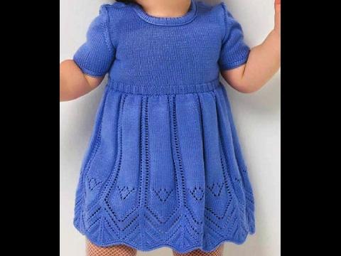 МК Детское платье спицами (расчеты) 1 часть