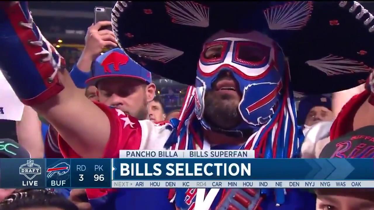 23d81490 Pancho Billa: Buffalo Bills fan dies and is remembered on Twitter