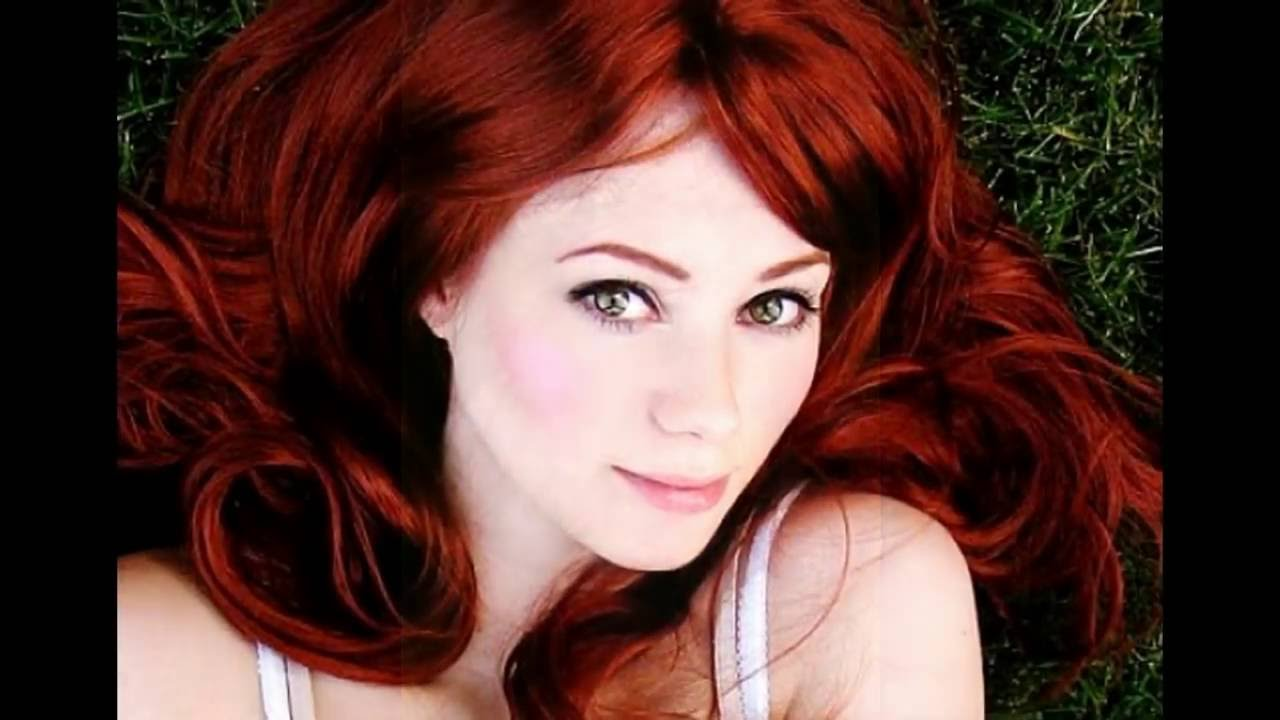 Coppery Red Hair Color Youtube