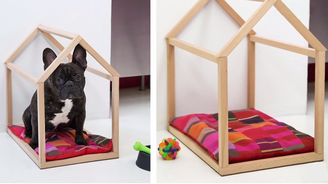 project tutorial: indoor-hundehütte selber bauen - youtube