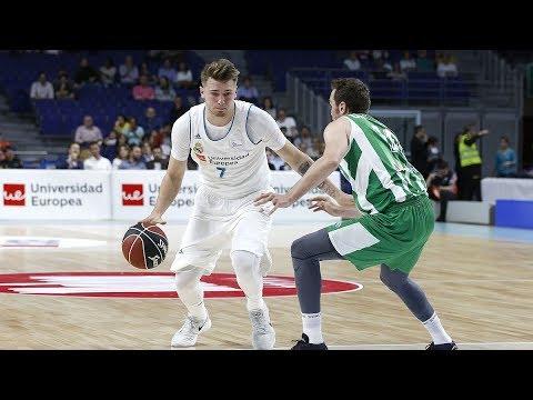 Histórico Luka Doncic: firma el primer 'triple-doble' de la ACB desde 2007