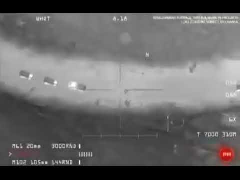 Видео операции по уничтожению генерала Сулеймани в Ираке! Атака дронов