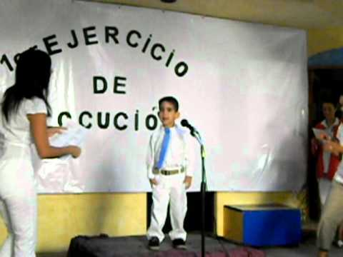 "Nico recita su rima ""Verduras"""