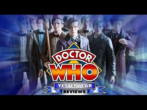 Doctor Who Yesteryear Reviews: The Eleventh Doctor Figures