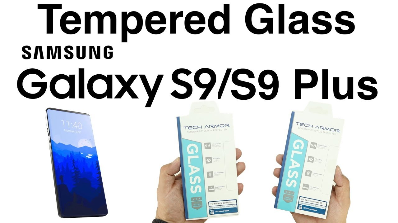 quality design dd332 dc1b8 Best Galaxy S9/S9 Plus Tempered Glass Screen Protectors From Tech Armor!