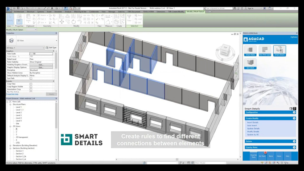 Precast Concrete Detailing Bim Software For Modeling Prefabricated Reinforced Concrete Structures In Revit Beams Columns Walls Slabs Floors Footings Foundation Agacad