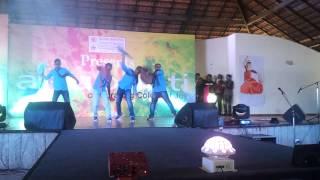bmsb 13th batch anubhuti 2015 dhamaal dance performance