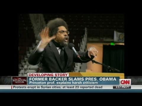 CNN: Dr. Cornell West: Obama a 'black puppet'