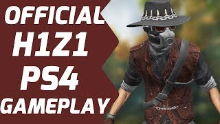 H1Z1 PS4 GAMEPLAY IS HERE & IT LOOKS AMAZING! #H1Z1