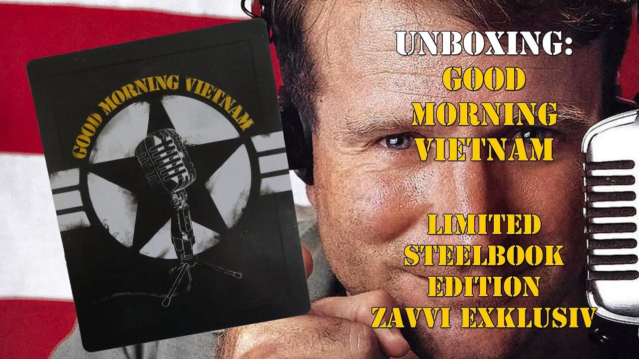 Good Morning Vietnam Playlist : Unboxing good morning vietnam zavvi exklusiv steelbook