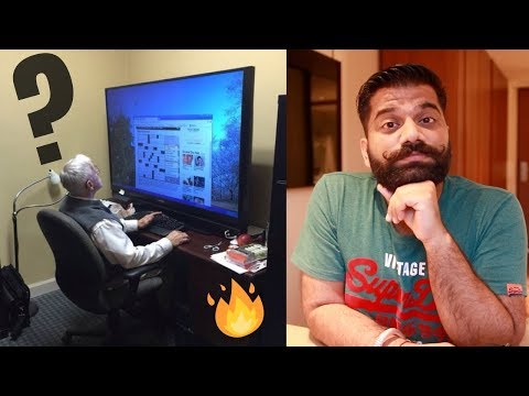 TV Vs Monitor?? Same Same or Different?? TV as a Monitor 🖥 📺 🔥