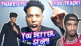 RESPONDING TO PONTIACMADE DDG | THARRIS18 DROPPING DISS TRACK ON ME? IS HE DRUNK?