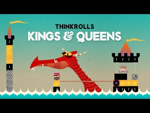 Thinkrolls: Kings & Queens by Avokiddo | Get it today on Google Play !