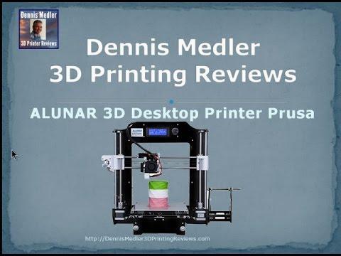 Tiko 3D Printer - First Print - Internal Slicer - YouTube