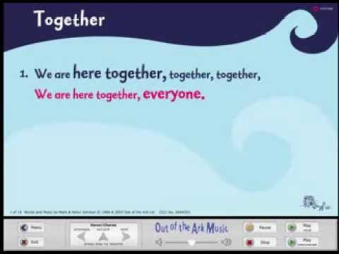 Together - Words on Screen™ Original