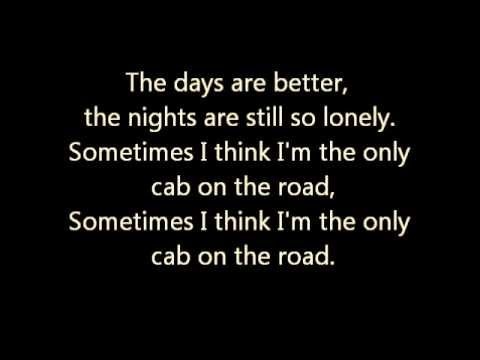 Train - Cab Lyrics