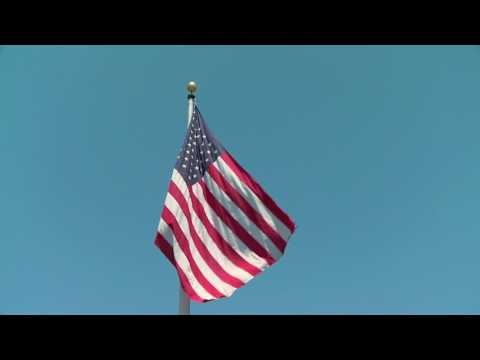 American Flag Hoisting  | 4 JULY | BLUE SKY | UNITING 50 NATIONS