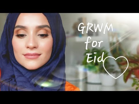 EID MAKEUP, HIJAB AND OUTFIT