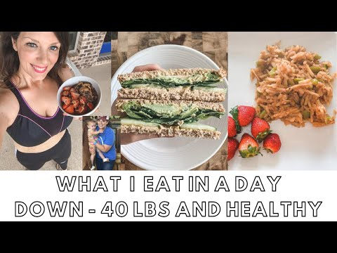 WHAT I EAT IN A DAY - Vegan Weight Loss - Plant Based