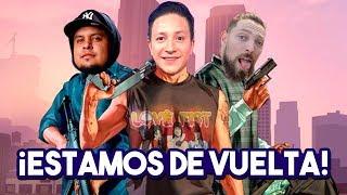 ¡REGRESAN LOS ATRACOS CON LOS NOOBS EN GTA V! // Criss Martell
