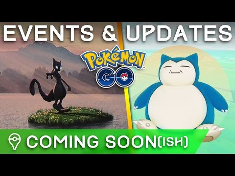 POKÉMON GO: SNORLAX EVENT + LEGENDARY EVENTS, GYM UPDATE, TRADING ALL CONFIRMED