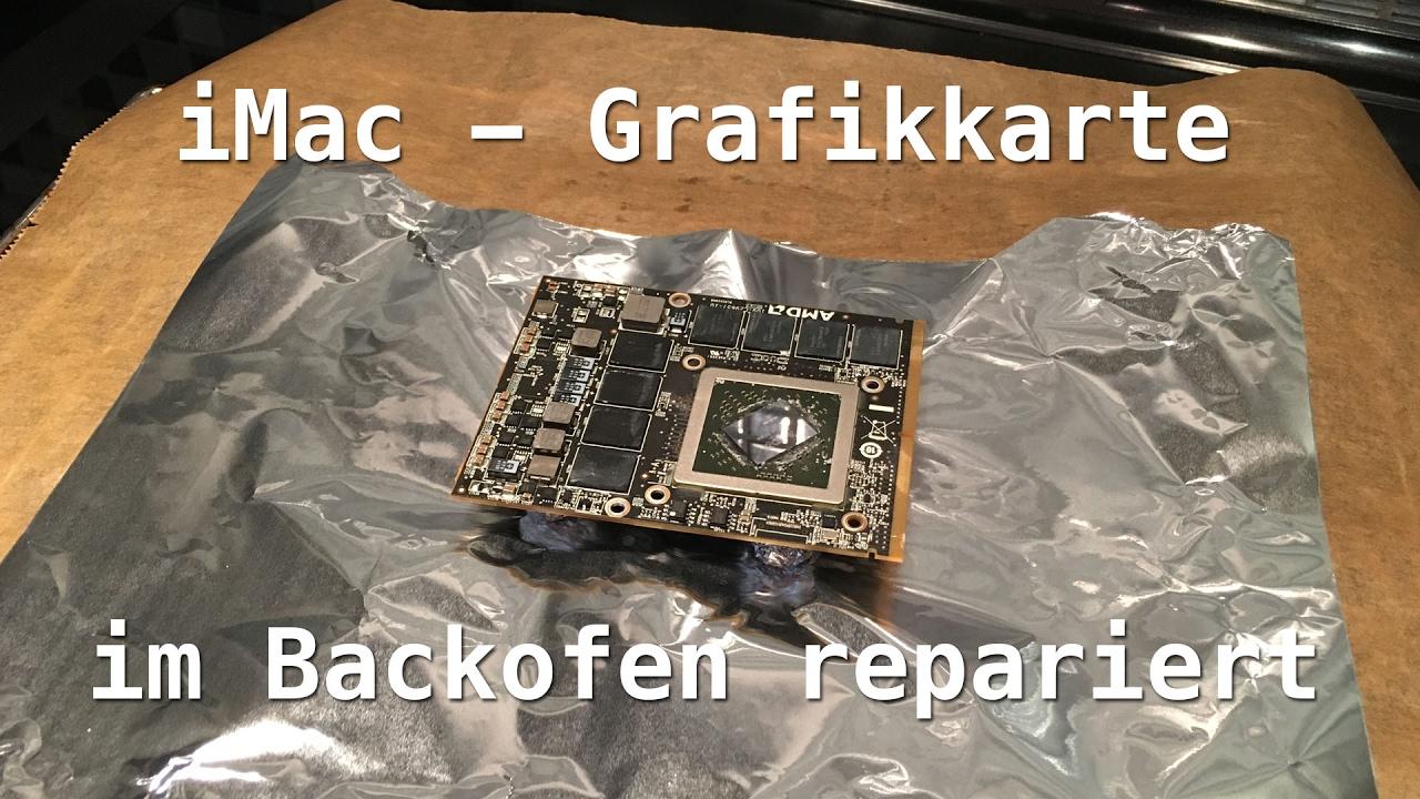 APPLE iMAC A1312 A1225 A1311 Logicboard Grafikchip Reparatur