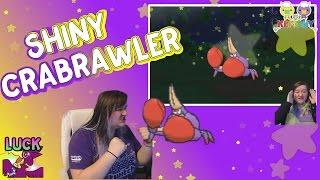 ✨ SHINY CRABRAWLER ✨ Pokemon Sun and Moon Shiny Hunt LIVE FAILS! 205 Encounters SOS Method Alolan thumbnail