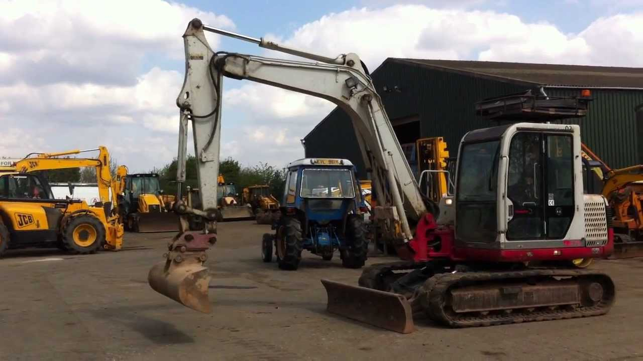 Takeuchi Tb175 Mini Digger 360 Excavator Track Machine 75 Ton Jcb Komatsu Excavators Wiring Diagram Youtube