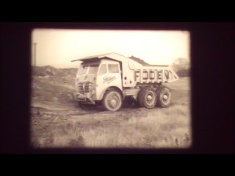 AEC. Euclid. Foden and Scammell. Coal board dumper trials at Arkwright Colliery. 1953.
