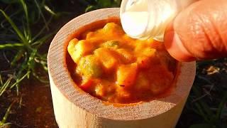 Miniature Veg Kholapuri | Side dish for chapati | veg kholapuri restaurant style | miniature cooking