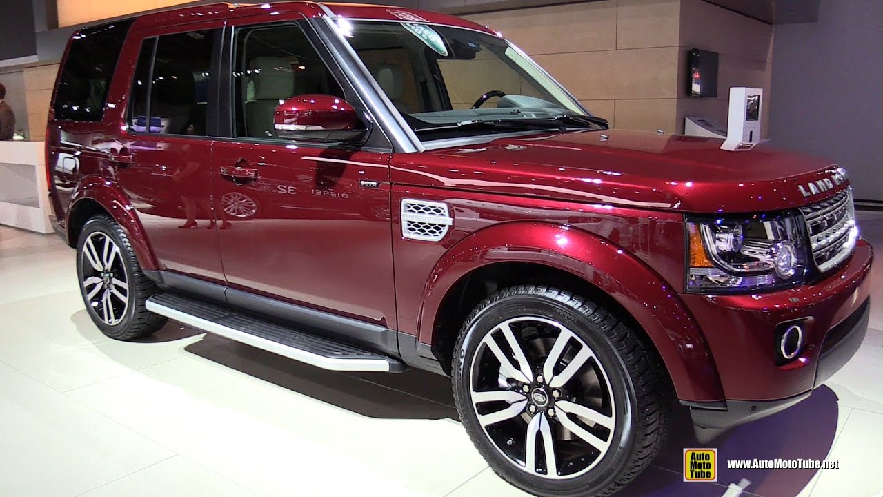 2015 Land Rover LR4 HSE Luxury   Exterior And Interior Walkaround   2015  Detroit Auto Show   YouTube