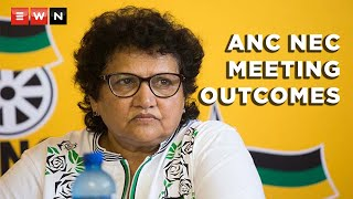 ANC deputy secretary-general Jessie Duarte admitted that the ruling party was having financial problems. Duarte was delivering the outcomes of the national executive committee meeting on 11 May 2021.