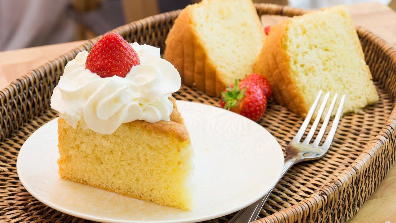 Recipe Whisked Sponge Cake