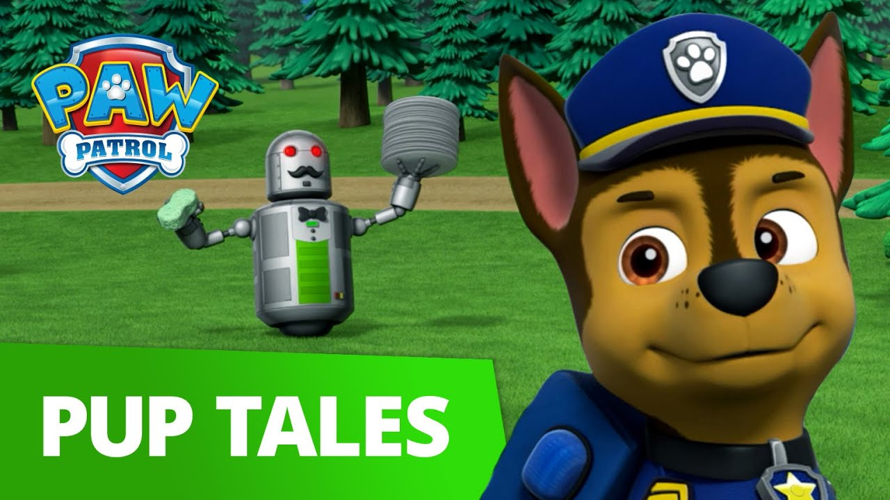 PAW Patrol | Pups Save a Waiter Bot | PAW Patrol Official & Friends