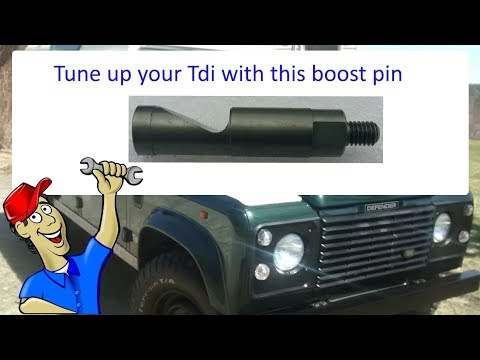 1x Boost Pin For Ve Pump Fuel Power Turbo Upgrade for Land Rover 200 300 Tdi