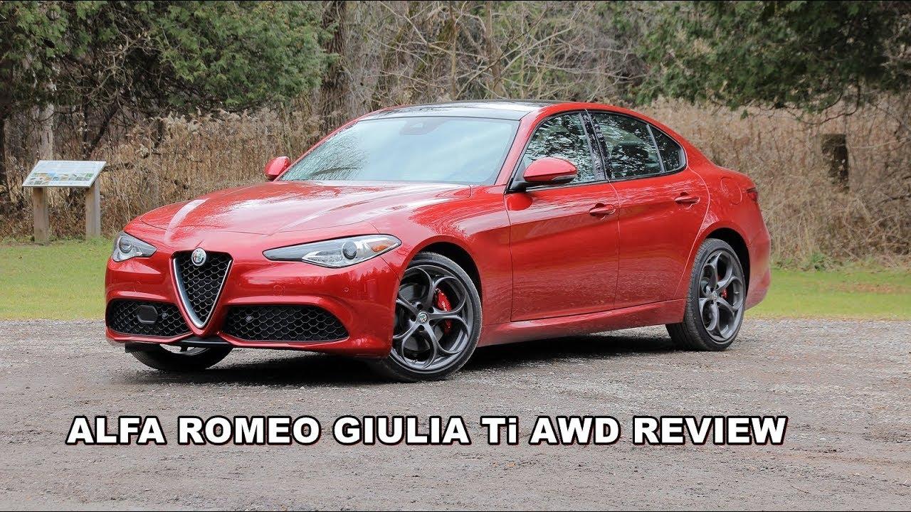 2017 alfa romeo giulia ti review - youtube